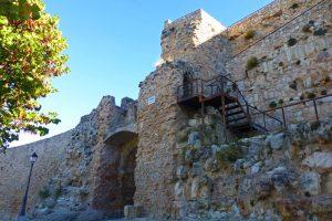Escalera de acceso a lo alto del Castillo de Cuenca