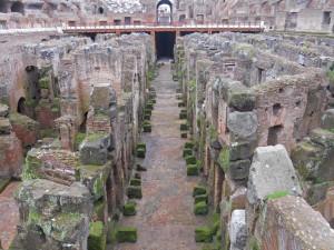 Hipogeo del Coliseo de Roma