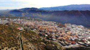 Tabernas, localidad que da nombre al desierto de Almería