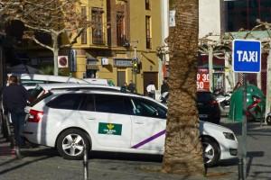 Parada de taxi de Jaén, transporte de Jaén