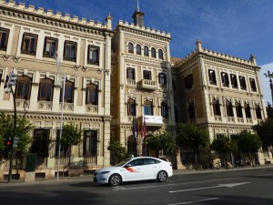 Taxi, uno de los medios de transporte para moverse por Murcia