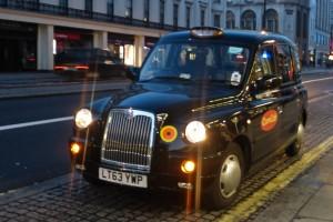 Taxi londinenses Black Cabs. cómo moverse por Londres