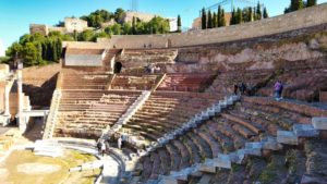 Graderío del Teatro Romano de Cartagena