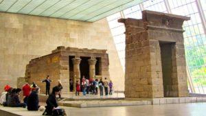 Templo de Dendur en el Museo Metropolitano de Arte de Nueva York