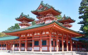 Edificio principal de Heian Jingu