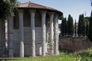 Templo de Hércules en el Foro Boario. Foto de Patrick Denker.