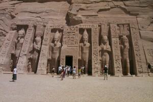 Templo de Nefertiti en Abu Simbel