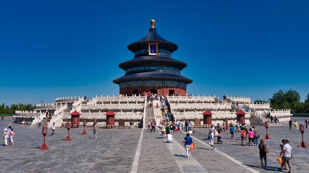 Templo del Cielo, una de las atracciones más visitadas de Pekín