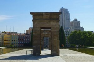 Templo de Debod, traído piedra piedra desde Egipto hasta Madrid