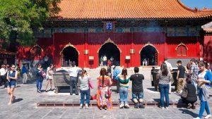 Entrada al Templo de los Lamas o Templo de Yonghe