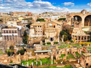 Foro Romano, centro de la vida pública durante el Imperio