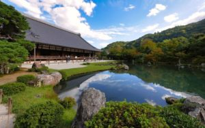 Tenryu-ji, uno de los templos budistas más importantes de Kioto