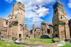 Termas de Caracalla, uno de las atracciones incluidas con la tarjeta Archaeologia Card