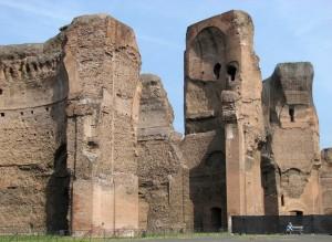 Termas de Caracalla. Foto de Patrick Denker