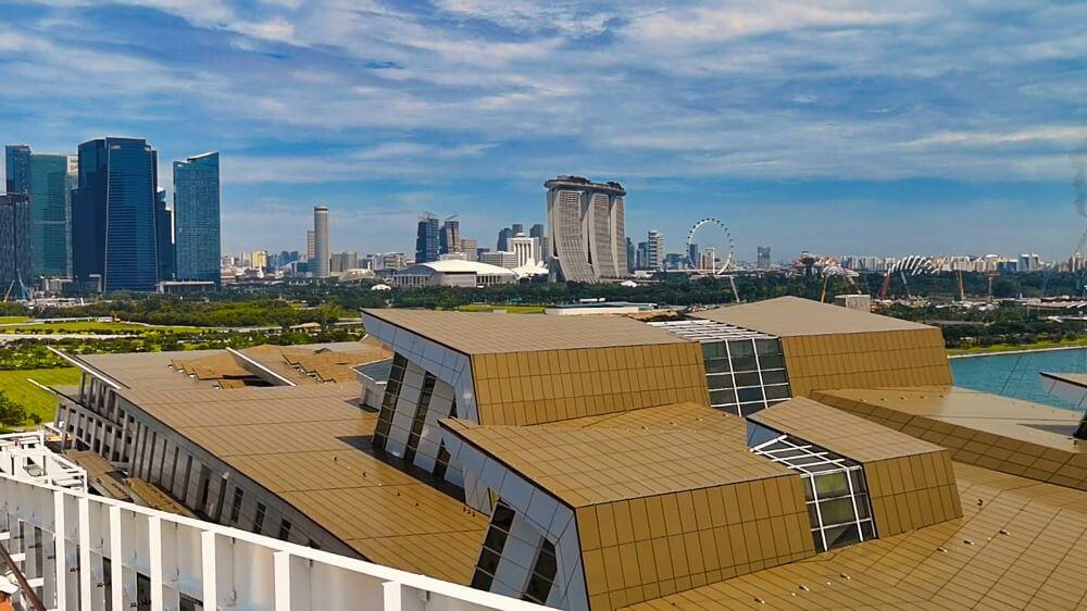 Terminal de Cruceros, uno de los principales medios de transporte para llegar a Singapur