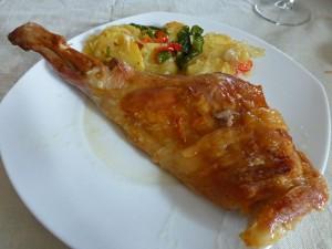 Ternasco de Aragón, plato típico de la gastronomía de Albarracín