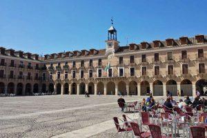 Terrazas en la Plaza Mayor de Ocaña