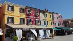 Tienda de encajes en Burano