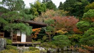 Edificio Togu-do del Gingakuji, declarado Monumento Nacional de Japón