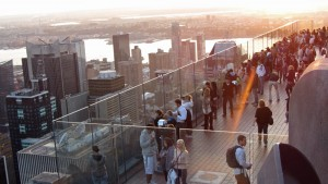 Observatorio Top of the Rock en el Rockefeller Center