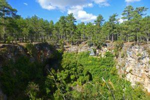 Torca de la Novia en el Monumento Natural Palancares y Tierra Muerta