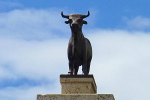 El Torico de Teruel, el protagonista de las fiestas patronales