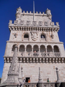 Decoración de la Torre de Belém