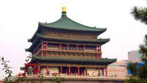 Torre de la Campana de Xian, la más grande y mejor conservada de su tipo en China