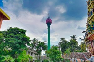 Torre del Loto, una de las construcciones más modernas de Colombo