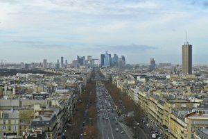 A la derecha de la imagen la Torre Montparnasse
