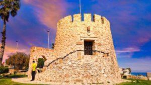 Torre del Moro en lo alto del Cabo Cervera