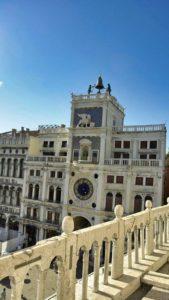 Torre del Reloj desde la Basílica de San Marcos