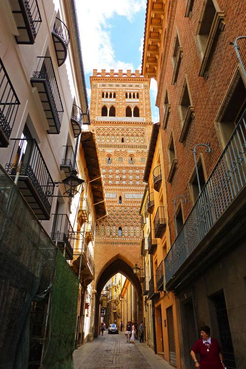 Resultado de imagen de Torre del Salvador de teruel