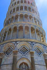 Detalles de la Torre de Pisa