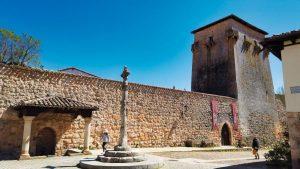 Torreón de Fernán González, uno de los principales monumentos de Covarrubias