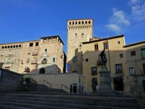 Torreón de Lozoya en la Plaza de San Martín, edificios civiles de Segovia
