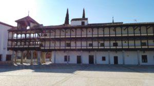 Plaza Mayor de Tembleque, declarada Bien de Interés Cultural