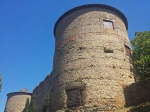 Torreones del Castillo-Palacio de los Marqueses de Villafranca