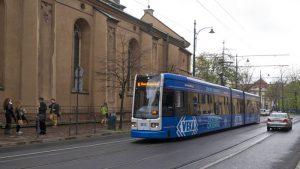 Tranvía de Cracovia, el medio de transporte más utilizado para moverse por la ciudad