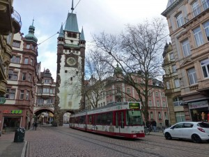 El tranvía es el principal medio de transporte público de Friburgo de Brisgovia