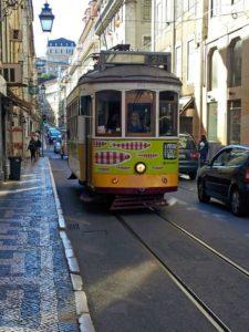 Tranvía histórico de Lisboa
