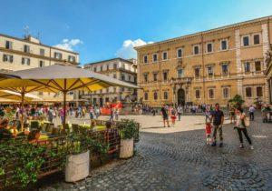 Barrio del Trastévere, uno de los más pintorescos de Roma