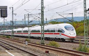 Tren ICE de alta velocidad de Alemania