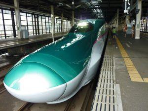 Tren bala Hayabusa, una de las últimas incorporaciones a la flota de los shinkansen