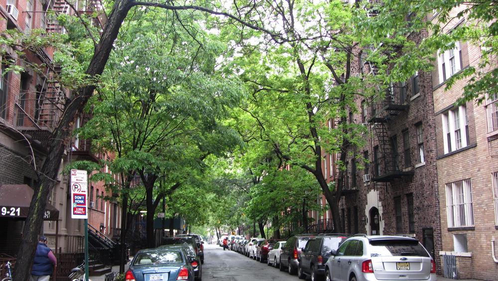 Calles de Tribeca en Nueva York