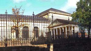 Tribuna Juradera en la Casa de Juntas de Guernica