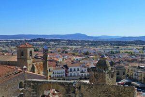 Panorámica de Trujillo desde el castillo