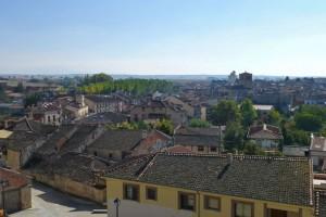 Vistas de Turégano desde el castillo