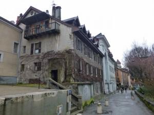 Calles de Annecy, una de las ciudades más bellas de Francia