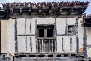 Detalle de una de las casas tradicionales de Calatañazor